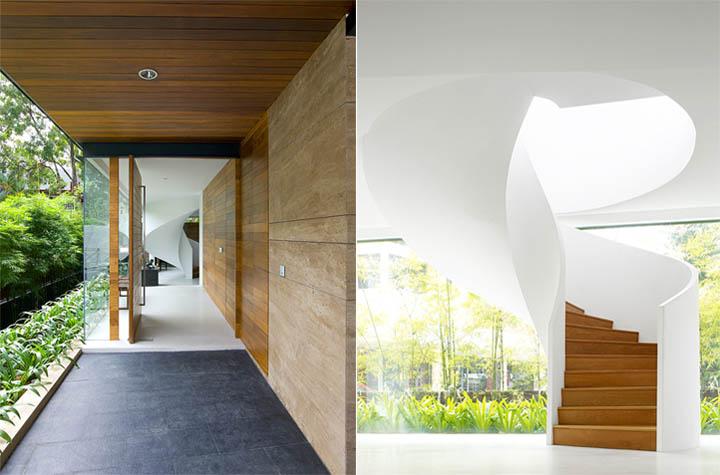 Vật liệu mang tính bền vững, chịu tác động của ánh sáng thay đổi trong ngày