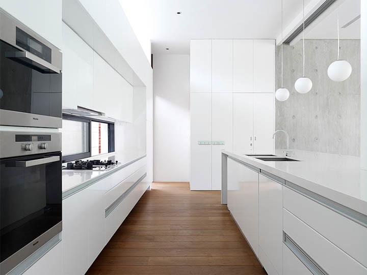 Thiết kế nội thất biệt thự tại không gian bếp