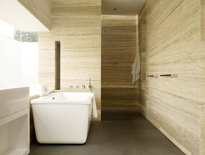 Thiết kế nội thất của phòng tắm