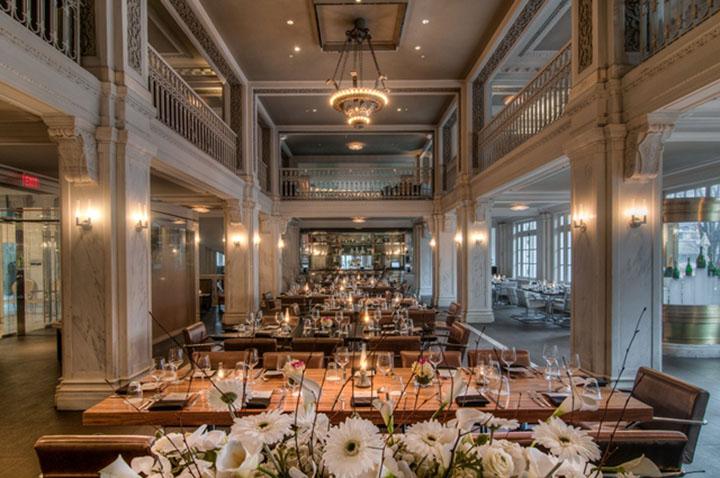 Nhiệm vụ chính trong thiết kế là gìn giữ nét cổ kính của nhà hàng