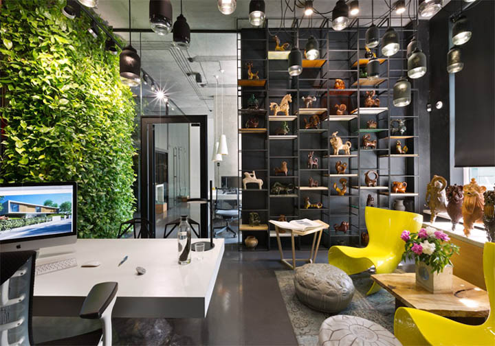 Thiết kế nội thất văn phòng làm việc công ty Sergey Makhno