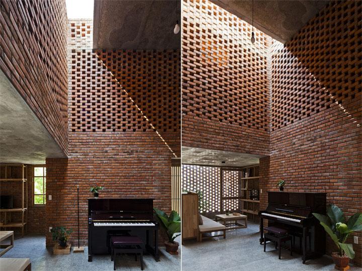 thie-ke-can-ho-termitary-house-01 Termitary House - Thiết kế căn hộ gạch nung và vật liệu thô