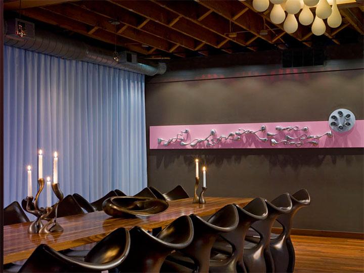 Thiết kế nội thất nhà hàng Bob San