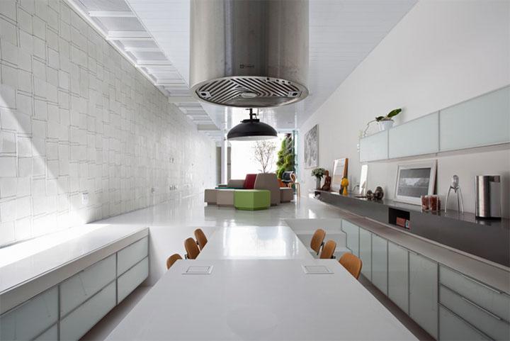 Bếp là không gian có nhiều điểm đặc biệt trong thiết kế nhà phố