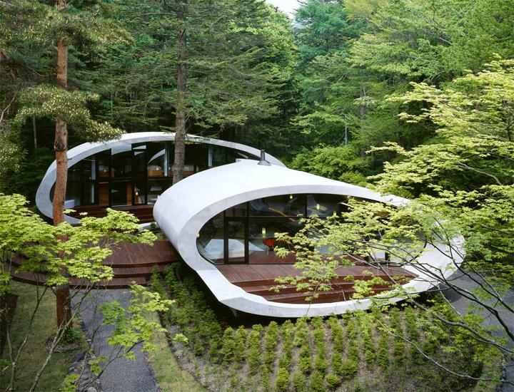 Thiết kế biệt thự nghỉ dưỡng Shell House hòa cùng thiên nhiên