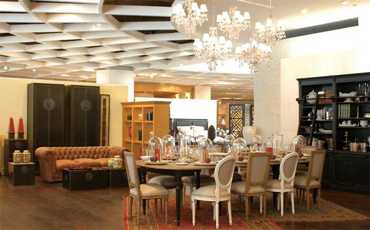 thiet-ke-noi-that-cua-hang-casa-palacio-01 Ánh sáng tự nhiên trong thiết kế nội thất cửa hàng Casa Palacio