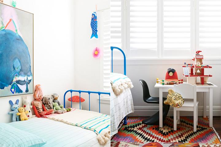 thiet-ke-trang-tri-phong-ngu-tre-em-01 4 vấn đề về trang trí - thiết kế nội thất phòng ngủ trẻ em