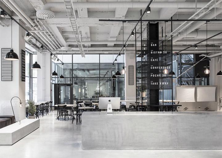 Thiết kế nhà hàng Usine lấy phong cách Scandivanian làm chủ đạo