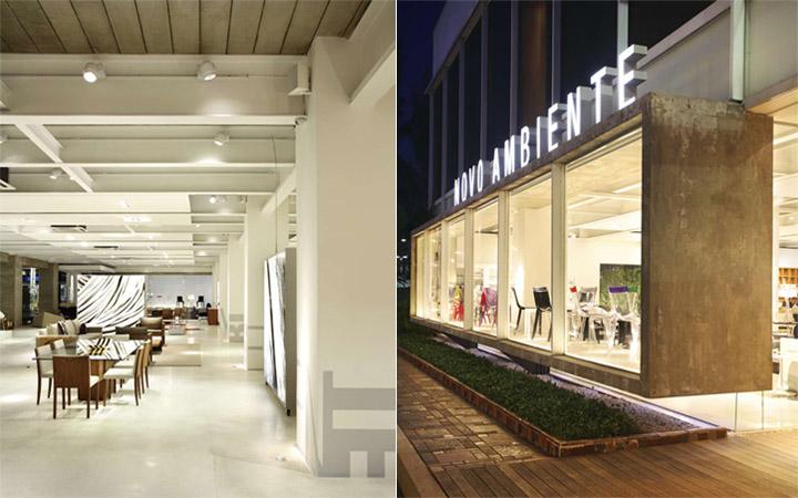 Khách hàng có thể nhìn thấy các sản phẩm trong cửa hàng qua mảng kính lớn