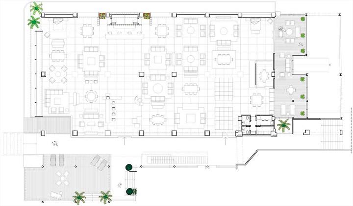 Novo Ambiente - Thiết kế showroom đồ nội thất tối giản
