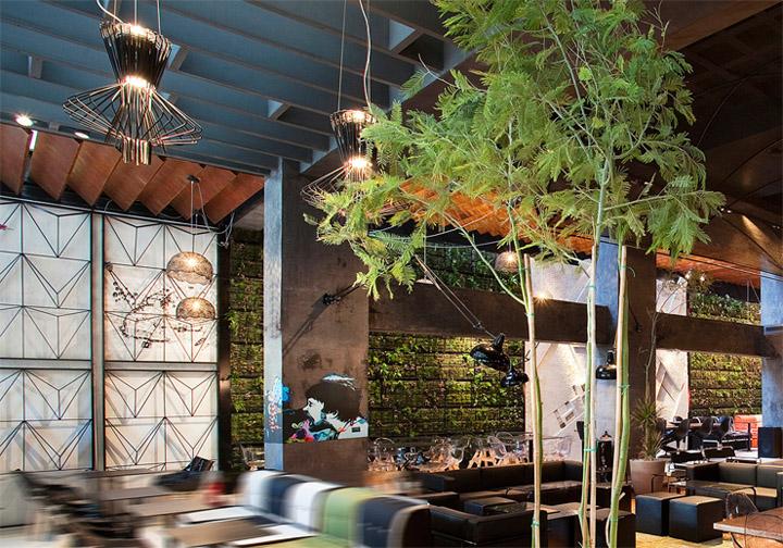 Phong cách tươi trẻ được sử dụng nhiều trong thiết kế quán cafe