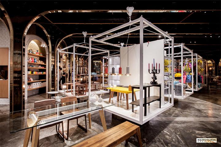 Bố trí chiếu sáng trong thiết kế showroom đồ nội thất
