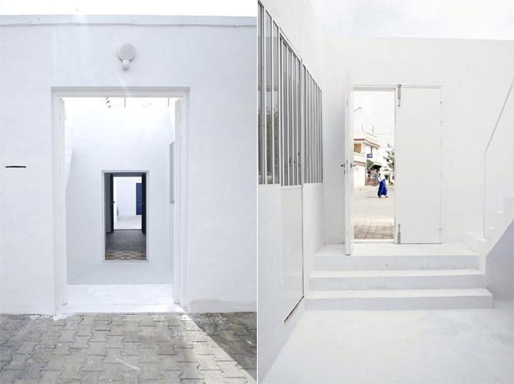 thiet-ke-nha-o-truyen-thong-dar-mim-01 Dar Mim - Ngôi nhà màu trắng truyền thống ở Tunisia