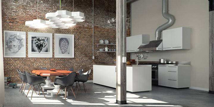 thiet-ke-noi-that-can-ho-voi-tuong-gach-tho-jaklitsch-gardner-01 Cảm hứng thiết kế nội thất căn hộ với tường gạch thô mộc