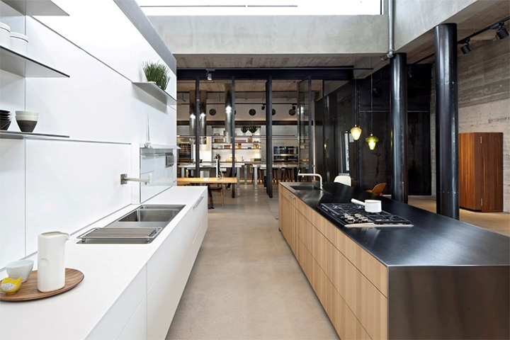 showroom-trung-bay-thiet-bi-nha-bep-cao-cap-cua-duc-bulthaup-01 Bulthaup - Showroom trưng bày thiết bị nhà bếp cao cấp của Đức