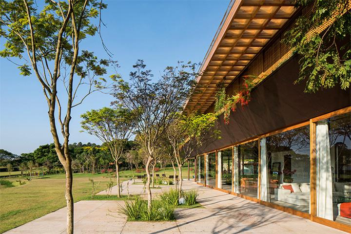 biet-thu-nghi-duong-cuoi-tuan-sw-house-01 SW House - Biệt thự nghĩ dưỡng cuối tuần siêu đẹp ở Brazil