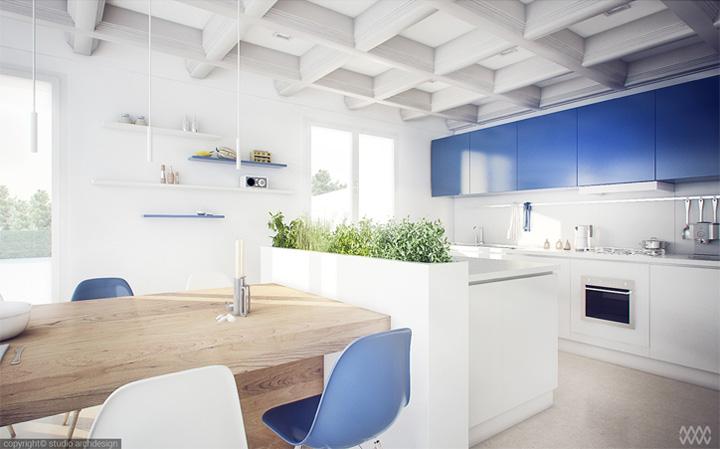 mau-thiet-ke-noi-that-phong-an-lien-bep-dep-cho-nhung-bua-tiec-01 Mẫu thiết kế nội thất phòng ăn liền bếp đẹp cho những bữa tiệc