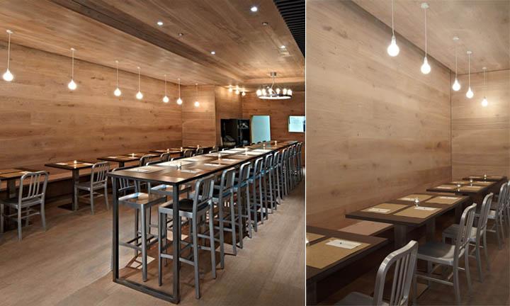 Thiết kế nội thất quán cafe là sự kết hợp hai nên văn hóa phương Đông - phương Tây