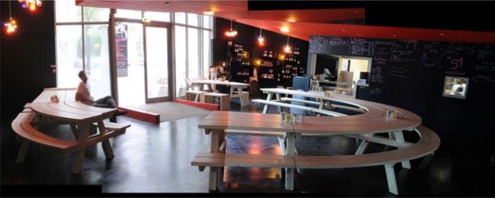 Nhà hàng được thiết kế bởi công ty MUT Architecture