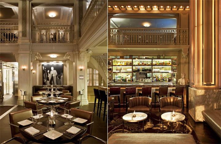 Thiết kế nội thất nhà hàng và quầy bar