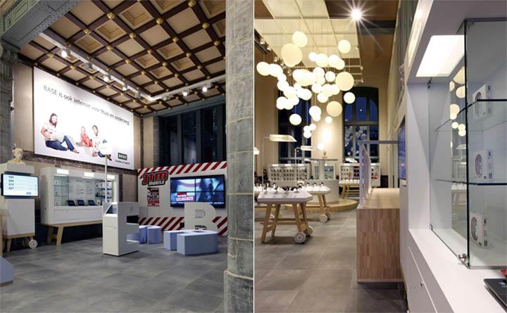Khách hàng có thể tận hưởng những sản phẩm công nghệ cao trong một không gian thân thiện