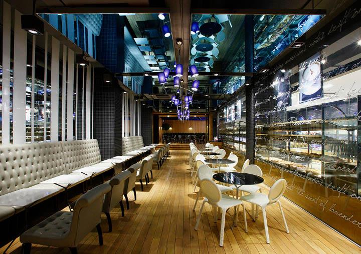 Dấu ấn riêng trong thiết kế cửa hàng bánh ngọt Paris Baguette 5