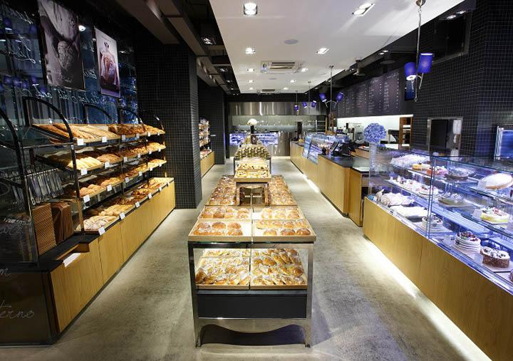 Thiết kế cửa hàng bánh ngọt Paris Baguette