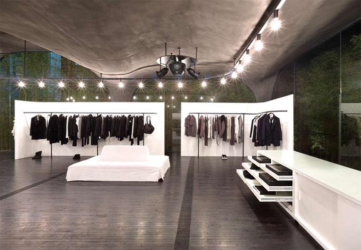 Tổng quan khu vực bán quần áo