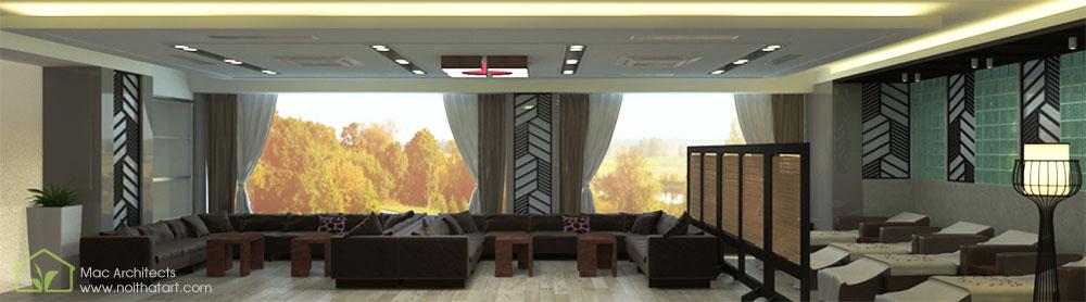 Quầy tiếp tân nên được thiết kế sang trọng và đẹp đẽ vì đây là nơi mà mọi người sẽ tận hưởng dịch vụ thoải mái nhất