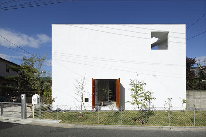Thiết kế nhà phố có dạng hình hộp
