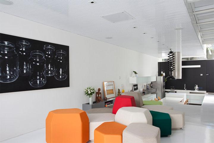 Thiết kế nội thất nhà phố theo phong cách trẻ trung