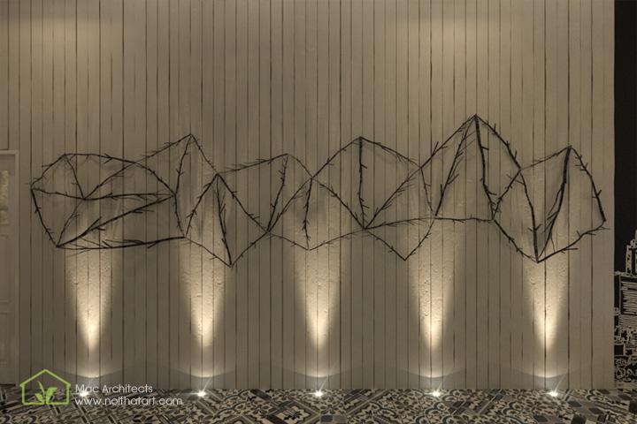 Diva Spa - Thiết kế nội thất spa tông trầm từ vật liệu thô 3