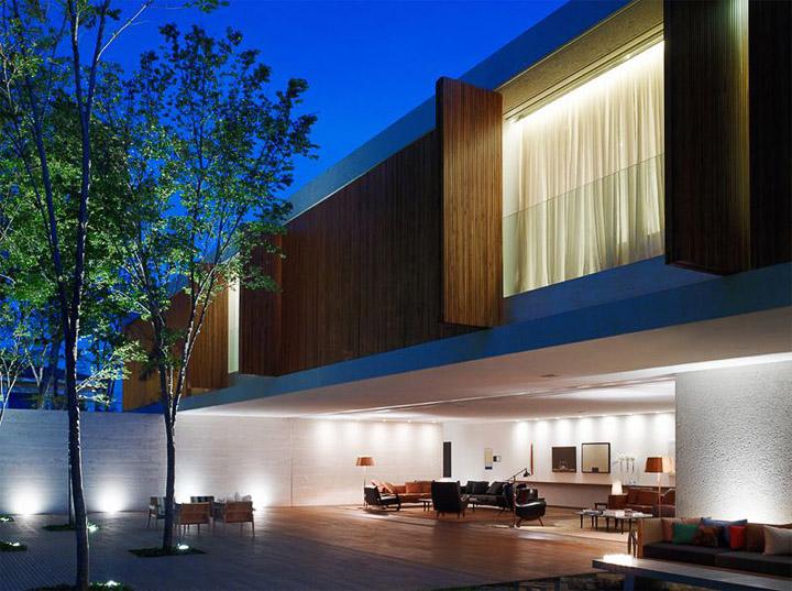 Sự phóng khoáng trong việc thiết kế biệt thự sân vườn casa panama