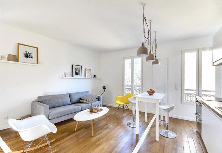 Bố trí hợp lý trong thiết kế nhà chung cư mini