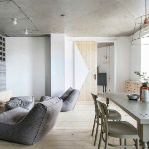 Tối giản và tiết kiệm là hai yếu tố chủ đạo trong thiết kế nội thất nhà chung cư