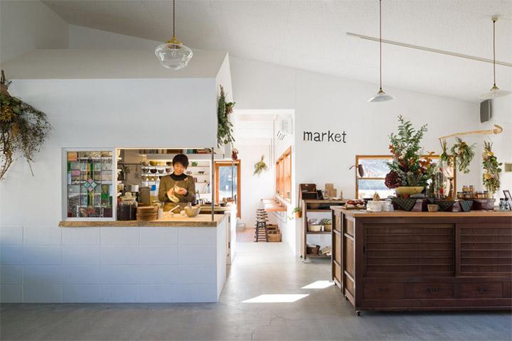 Thiết kế quán ăn nhỏ nhằm kết nối cộng đồng cư dân sống tại địa phương