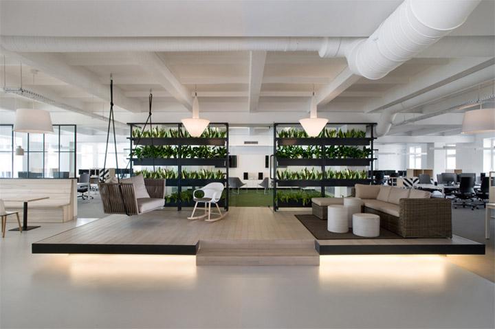 Thiết kế văn phòng đẹp giúp nâng cao hiệu quả làm việc 1