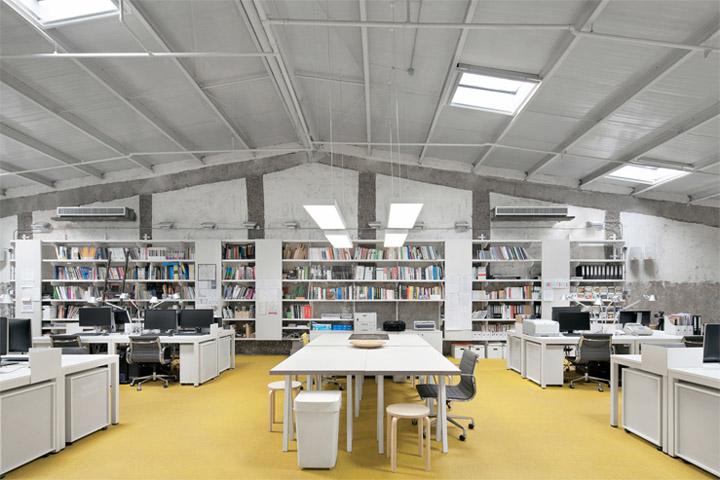 Thiết kế văn phòng đẹp giúp nâng cao hiệu quả làm việc 3
