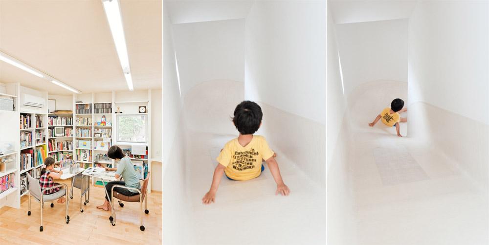 Slide House - Ngôi nhà cầu trượt dành cho ký ức trẻ thơ 1