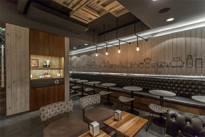 Thiết kế quán cafe đẹp và rẻ với gỗ pallet