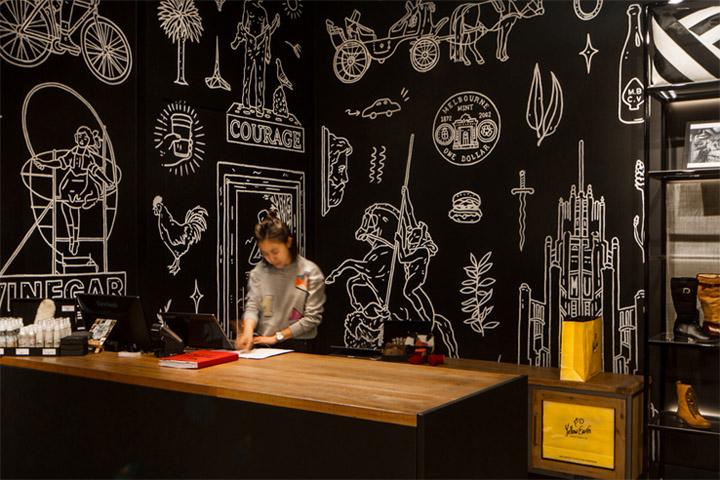 Vẽ tranh lên tường là cách để khiến không gian thêm độc đáo và sáng tạo