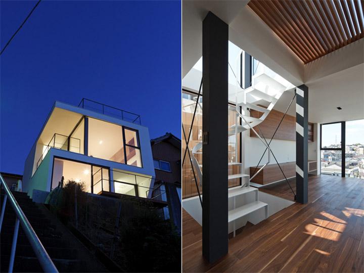 Vista - Ngôi nhà nhỏ trên đồi sử dụng vật liệu gỗ óc chó 1