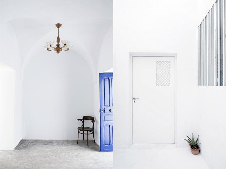 Dar Mim - Ngôi nhà màu trắng truyền thống ở Tunisia 6