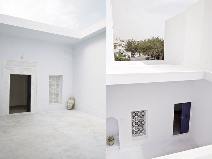 Dar Mim - Ngôi nhà màu trắng truyền thống ở Tunisia 8