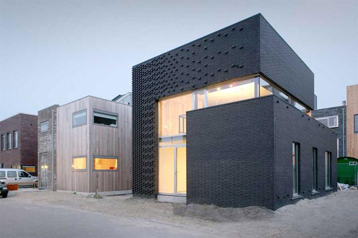 Ijburg House - Ngôi nhà kết hợp tường gạch với cây dây leo 4