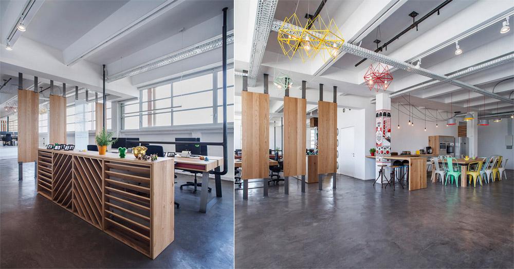 Thiết kế nội thất văn phòng phong cách Industrial năng động 5