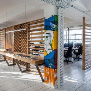 Thiết kế nội thất văn phòng hướng đến sự năng động, hợp tác và khơi nguồn sáng tạo