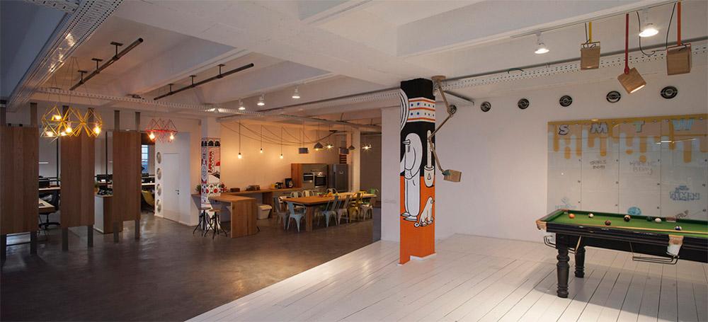 Thiết kế nội thất văn phòng phong cách Industrial năng động 12