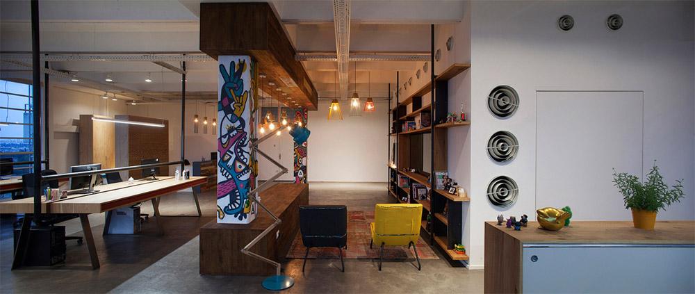 Thiết kế nội thất văn phòng phong cách Industrial năng động 13