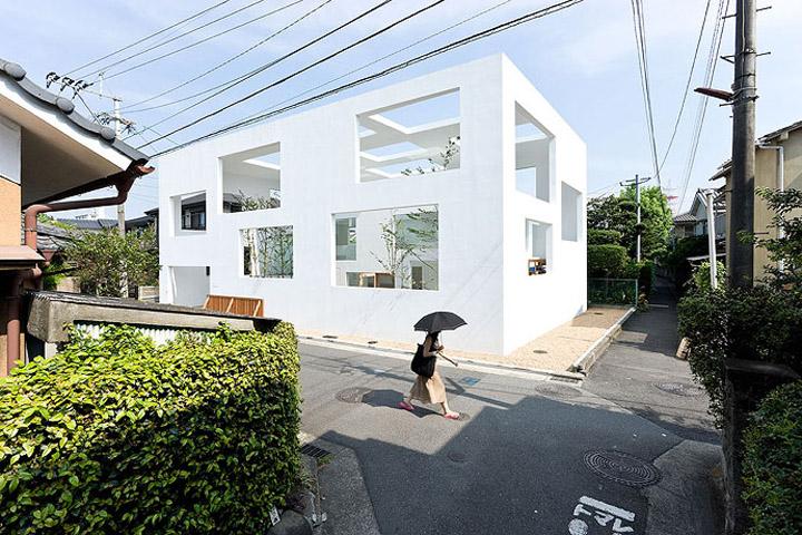House N - Thiết kế nhà ở hiện đại có ba lớp vỏ lồng vào nhau 1